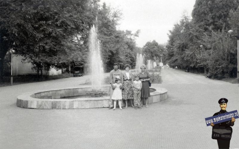 Краснодар. В горпарке им. Горького, август 1987 года