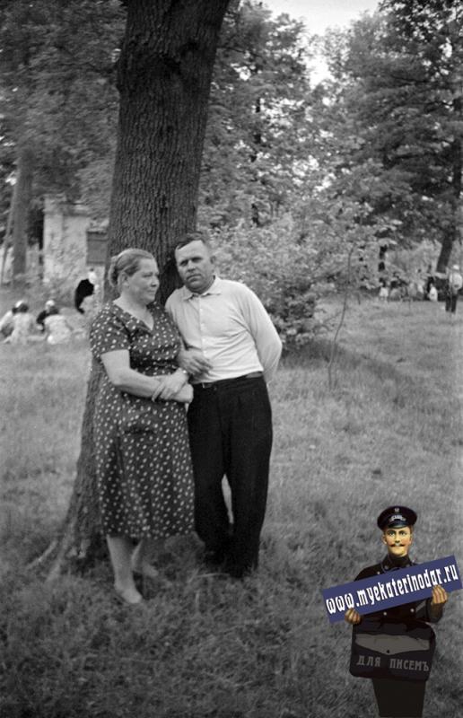 Краснодар. В Первомайской роще, 1961 год