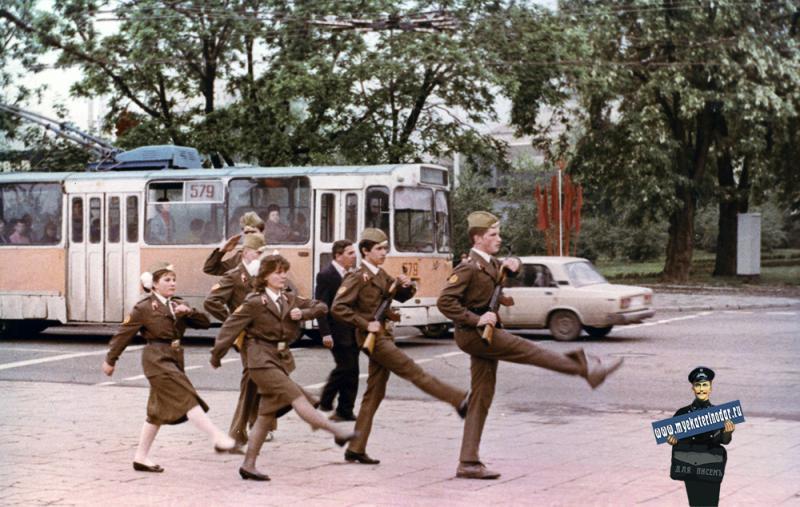 Краснодар. Вечный огонь, 1989 год
