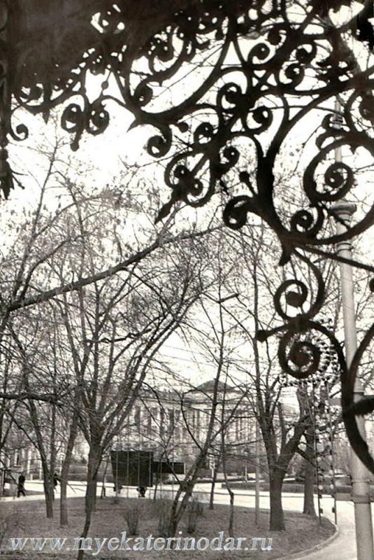 Краснодар. Вид на Политехнический институт, 1974 год