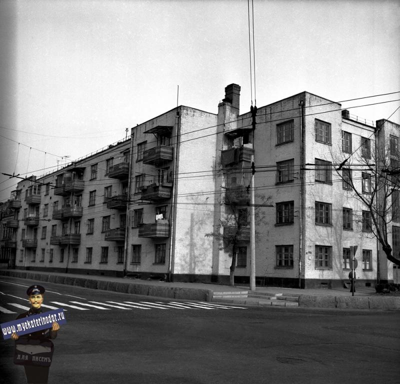 "Краснодар. Вид на ""Стодворку"", 1980 год"