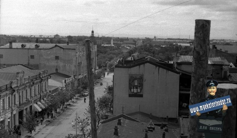 Краснодар. Вид с театра на южную часть города