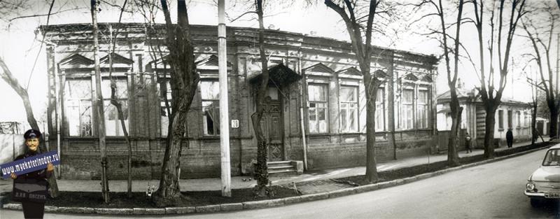 Краснодар. Янковского 20, 1989 год
