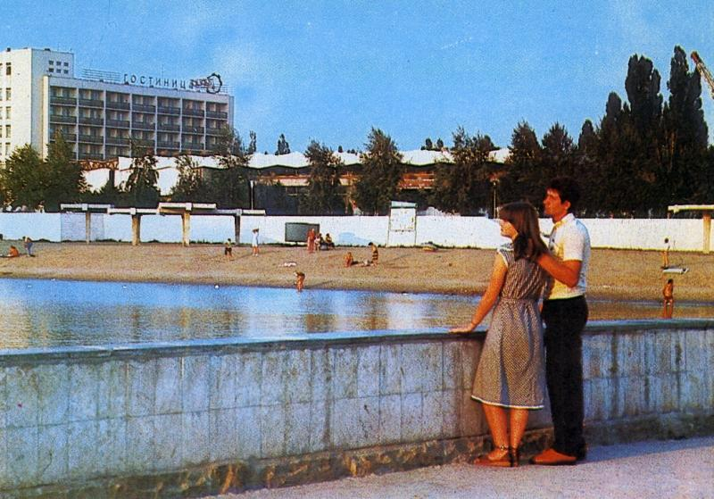 Краснодар. Затон, 1985 год