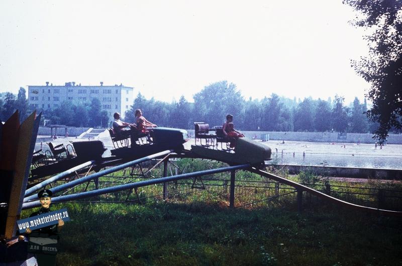 Краснодар. Затон, 1987 год