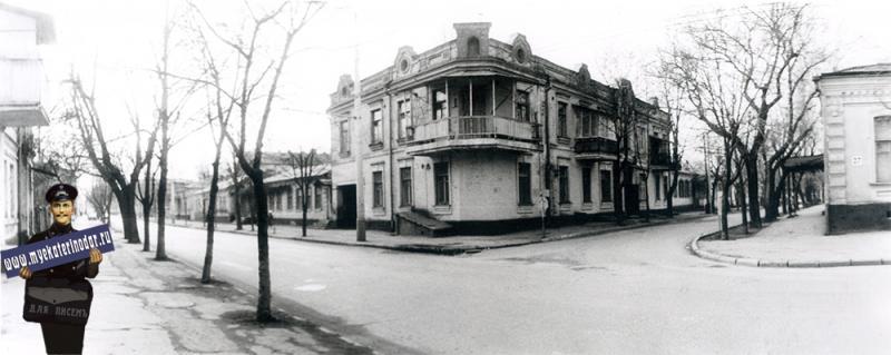 Краснодар. Жилой дом по Комсомольской, 80. 1989 год
