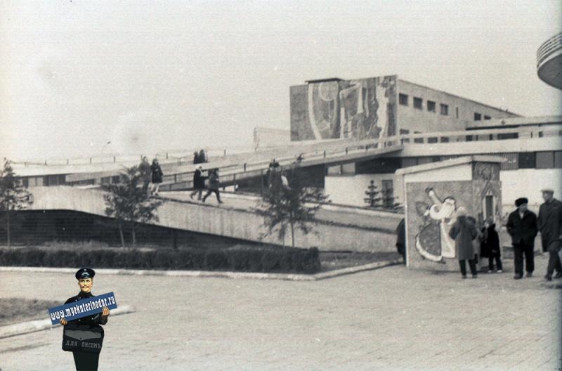 Краснодар. Цирк, 1975 год
