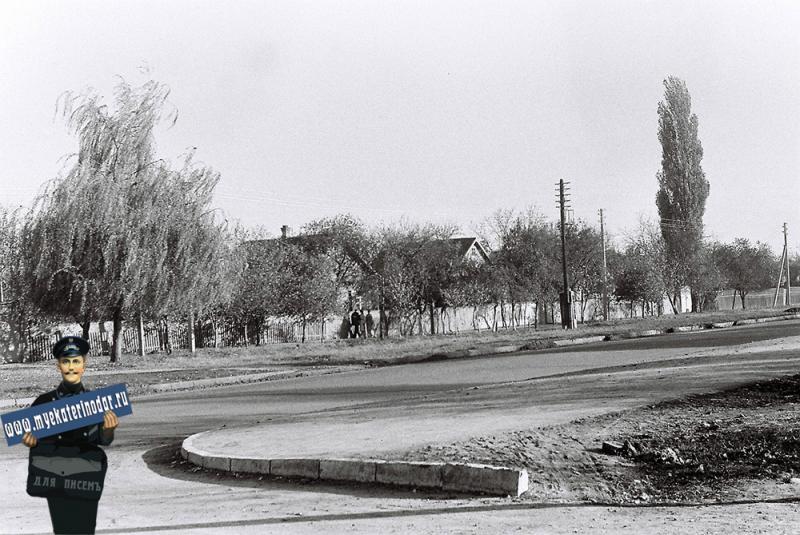 Краснодар. Поселок РМЗ-4, 1978 год.