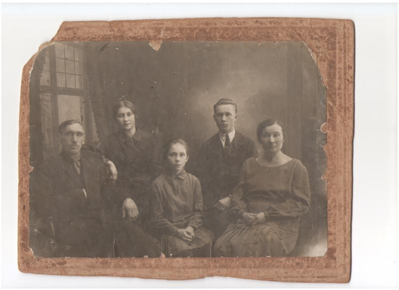 Краснодар. Семья Тарапатиных, 1932 год