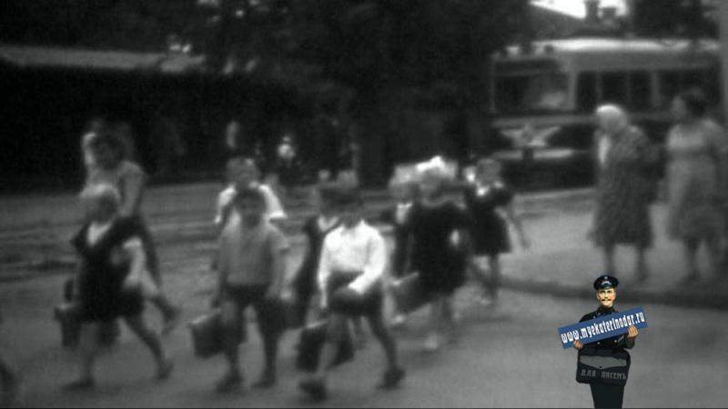 Краснодар. Угол ул. Северной и Коммунаров, 1963 год