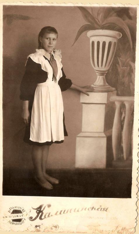 Ст. Калининская. Школьные годы, 1962 год