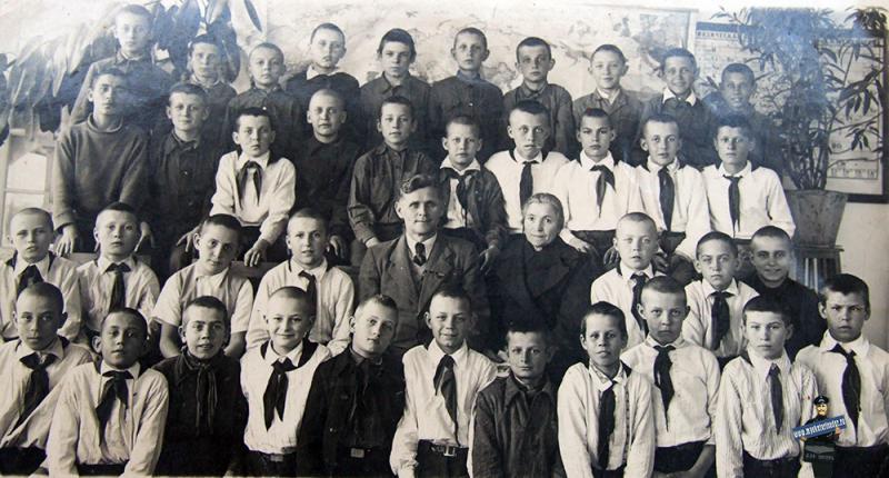Краснодар. Мужская СШ № 34 (ул.Казачья). 1952 год