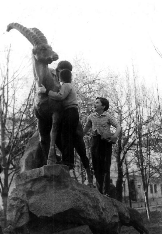 Краснодар. Сквер им. Cвердлова, 1968 год.