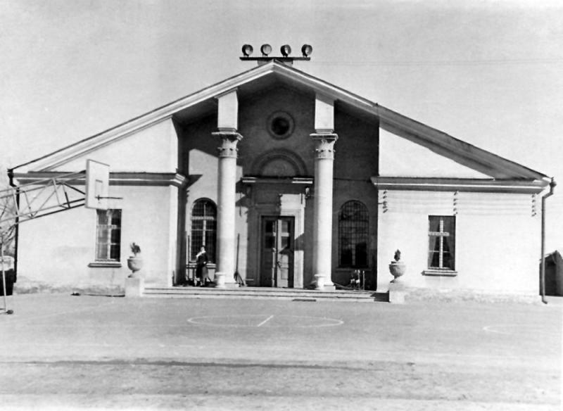 Краснодар. Спортзал Мединститута, 1965 год.