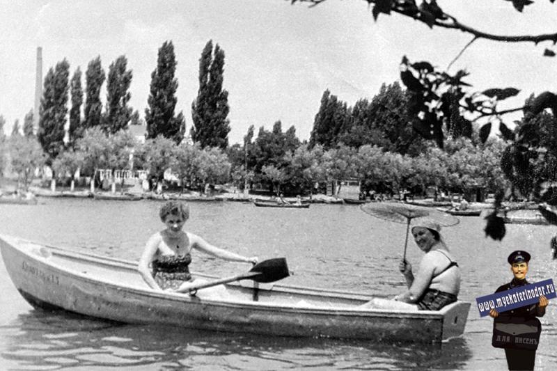 Краснодар. Старая Кубань, 1962 год