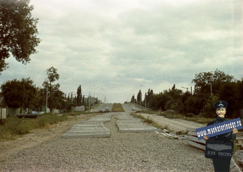 Краснодар. Строительство трамвайной линии на ул. Садовая
