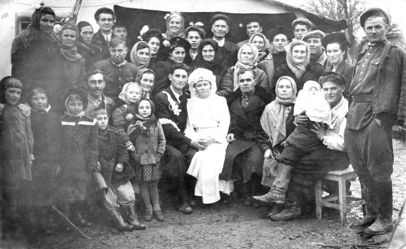 Станица Пашковская. Свадьба