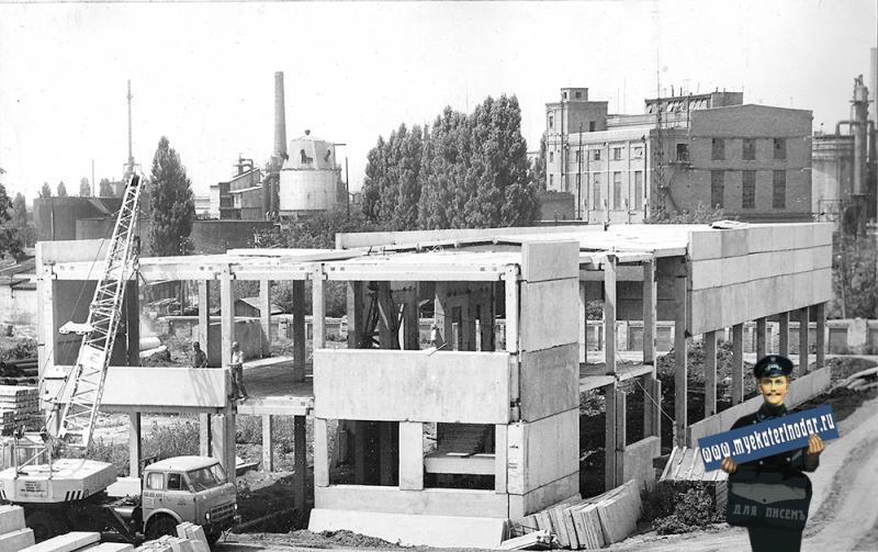 Краснодар. Топочное отделение цеха сушки дрожжей завода по производству кормовых дрожжей
