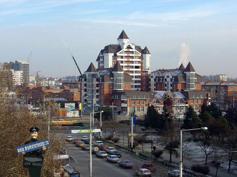 Краснодар. Тургеневский Замок, 2002 год