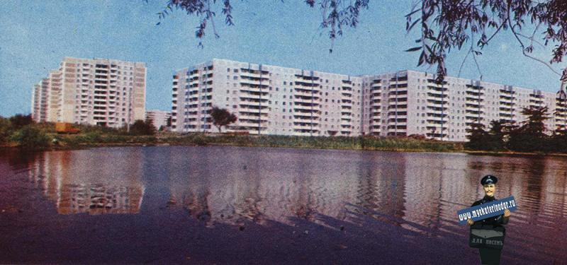 Краснодар. Тюляева - Приозёрная, начало 1980-х