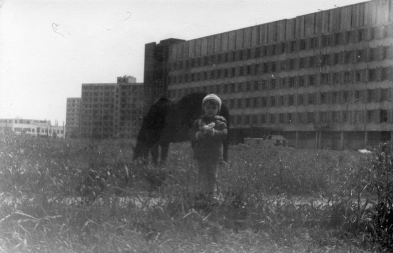 Краснодар. У Политехнического института, 1984 год