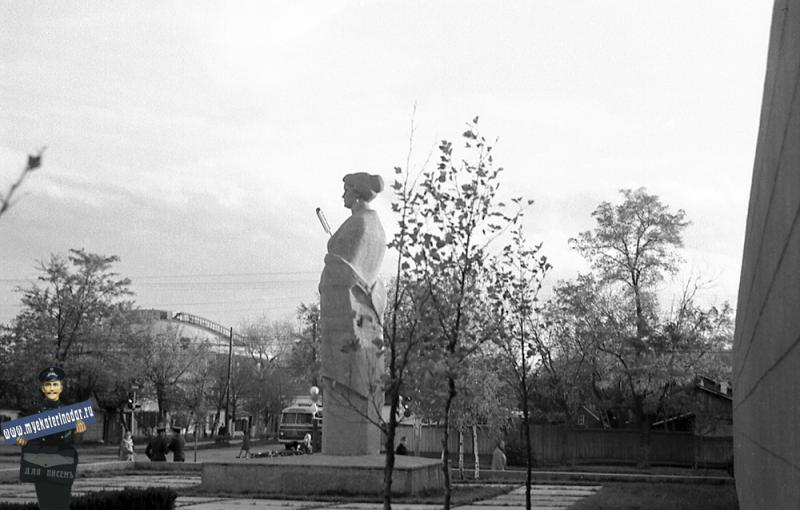 Краснодар. Угол улиц Северной и Октябрьской, 1970 год