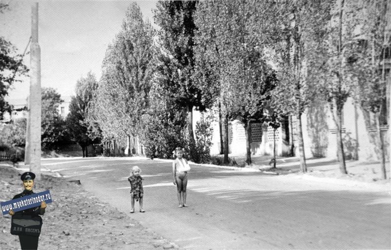 Краснодар. На улице Насыпной, июль 1964 года.