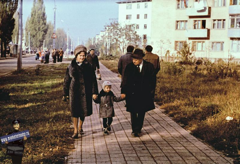 Краснодар. Улица Карла Либкнехта, 1973 год