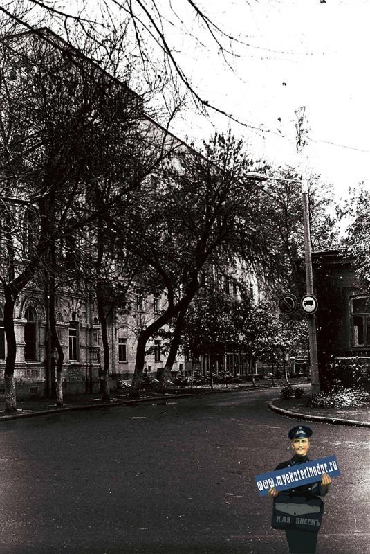 Краснодар. Перекресток ул. Кирова и Мира, 1978 год