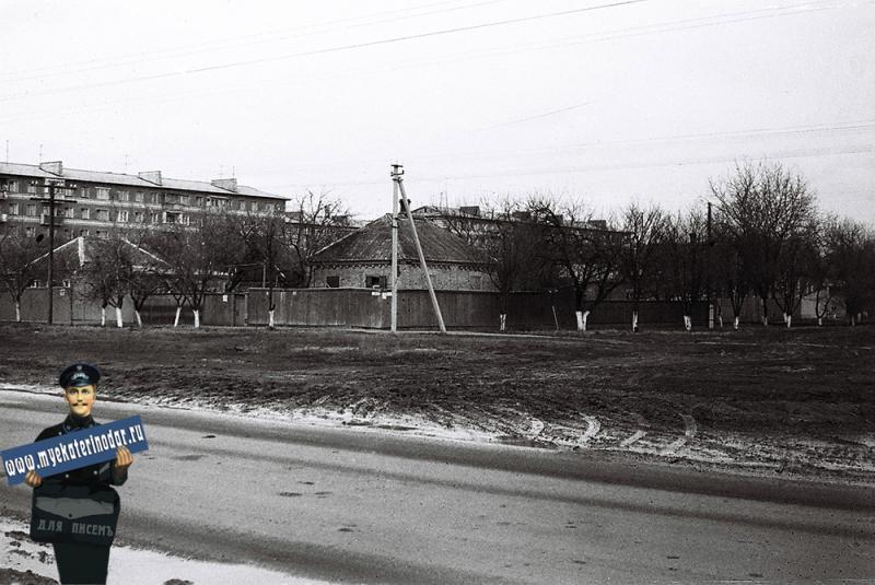 Краснодар. Улица Красных партизан, 1979 год.