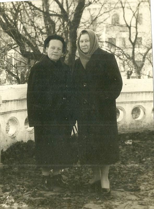 Краснодар. В Городском парке, 1959 год.