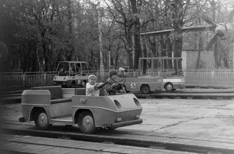 Краснодар. В Первомайском парке, 1984 год