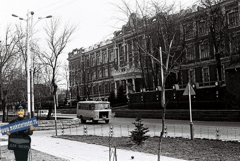 Краснодар. Военное училище, 1978 год.