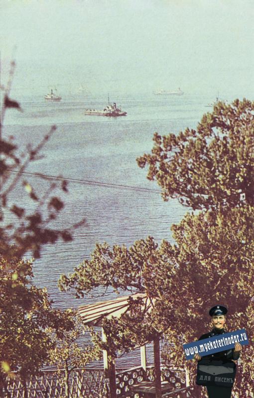 Новороссийск. Морской этюд. 1968 год.