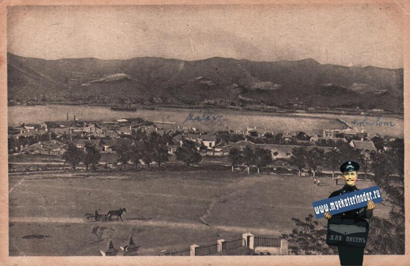 Новороссийск. Общий вид, около 1927 года