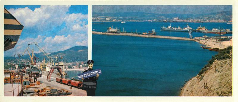 """Новороссиск. В морском порту. Нефтеналивная гавань """"Шесхарис"""""""
