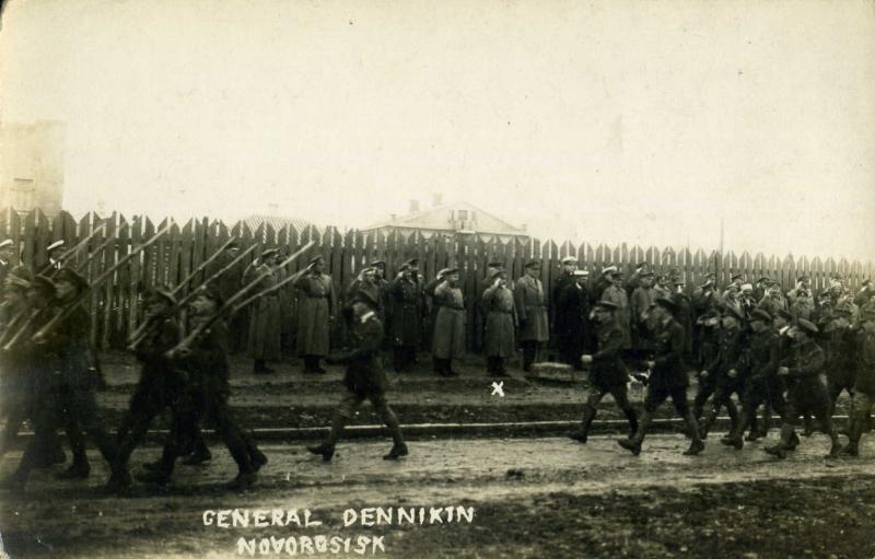 1920 год. Эвакуация вооруженных сил юга России из Новороссийска