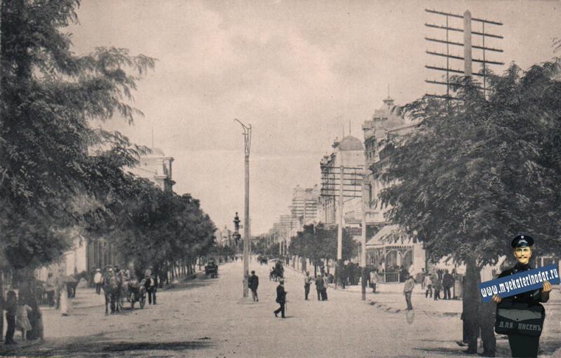 г. Новороссийск. Серебряковская улица, до 1917 года