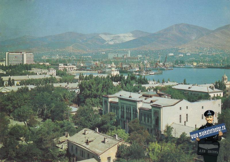 Новороссийск. Панорама города, 1983 год