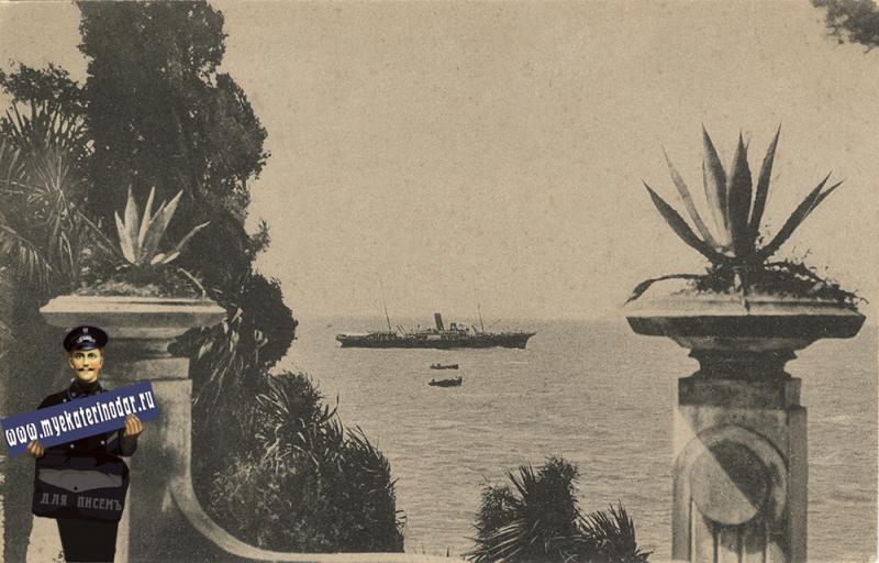 Сочи. Ривьера. Вид на море, 1926 год