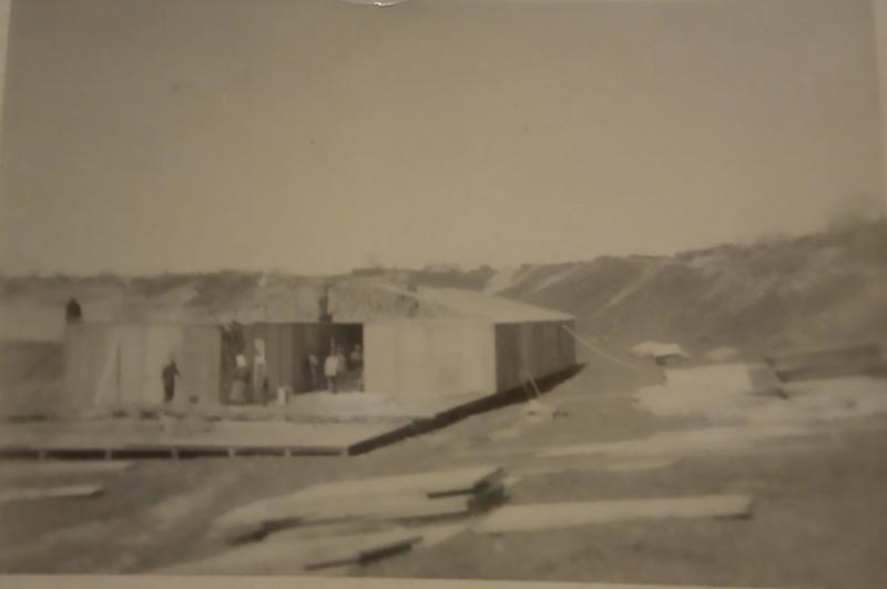 Строительство немецкого полевого лазарета #2, Тамань, 1943