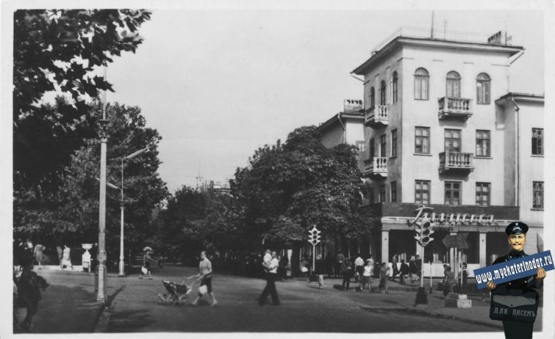 Туапсе. Карла Маркса улица. 1968 год.