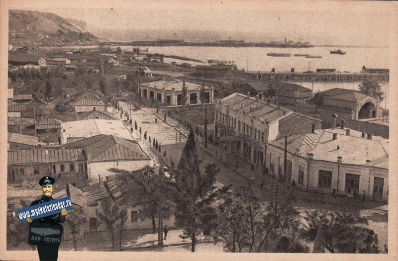 Туапсе. Вид с горки, около 1927 года