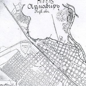 Карта Армавира