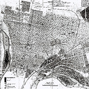 1900 год. Е.Д. Фелицын - План города Екатеринодара.