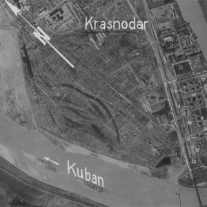 1942.04.29. Аэрофотосъемка Люфтваффе. Железнодорожный мост и Горогороды